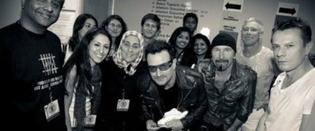 Hanım Tosun Bono'yla buluştu