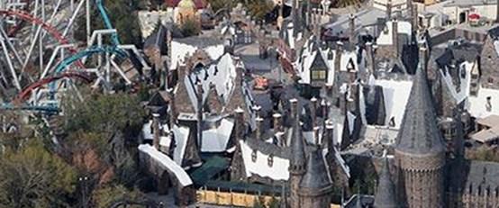 'Harry Potter'ın büyülü dünyası gerçek oldu!