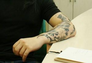 Hayko'nun yeni dövmesi...