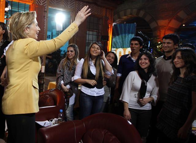 Hillary Clinton NTV'de