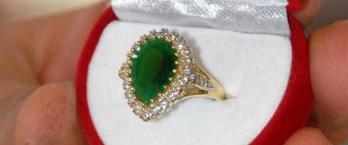 Hırsızı yakalatana Hürrem yüzüğü hediye