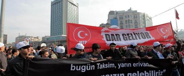 Hocalı katliamını protesto ettiler
