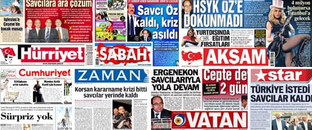 HSYK kararı manşetlerde: Savcılara ara çözüm
