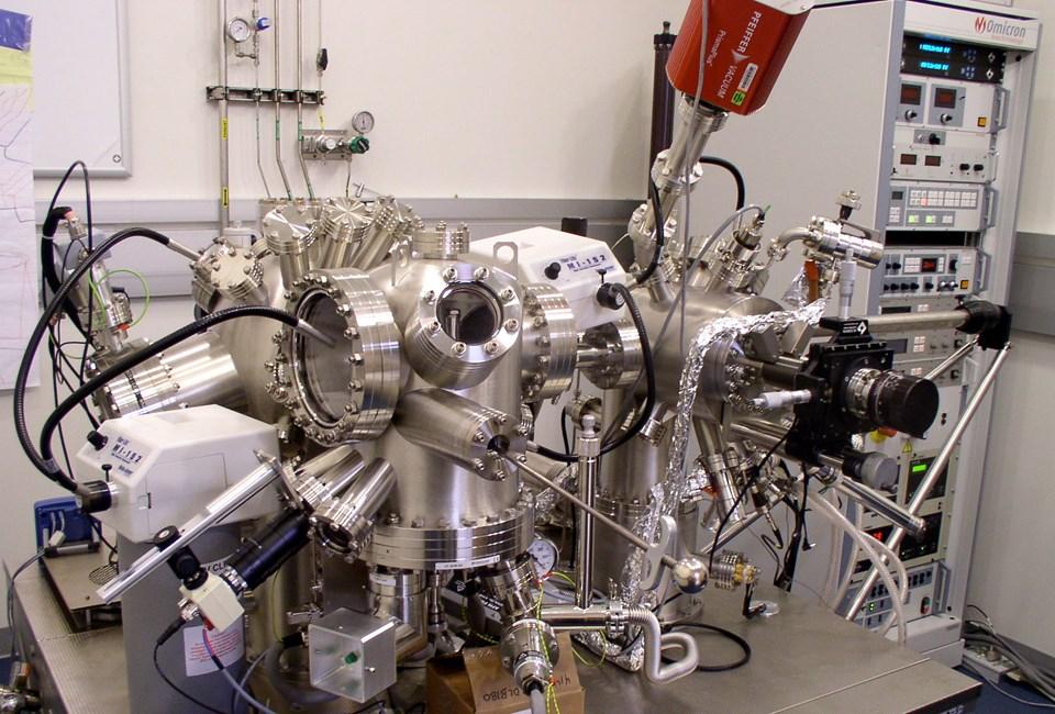 STM mikroskobu.