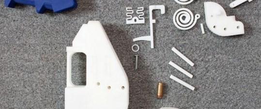 İlk 3D silahın tasarımını 100 bin kişi indirdi