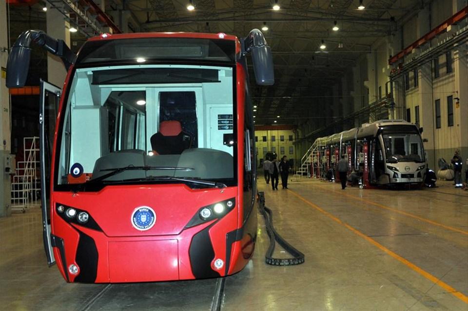 İlk yerli tramvay raylara inecek