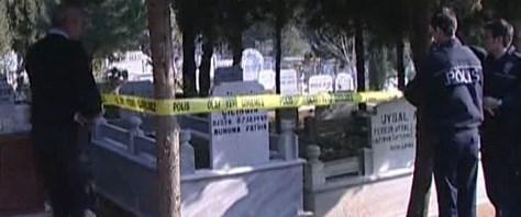 İnfaz sonrası mezarlıkta intihar