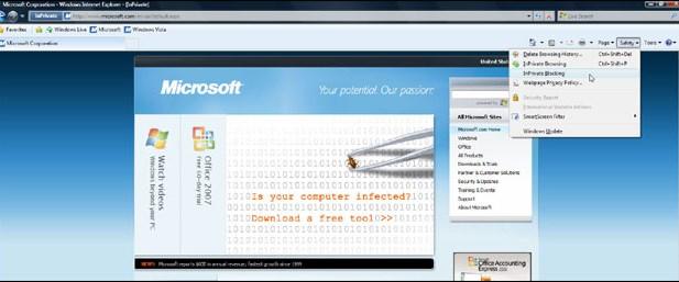 Internet Explorer açığı yamandı