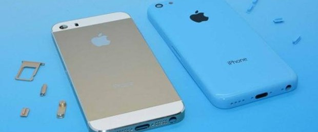 iPhone 5S ve 5C yan yana