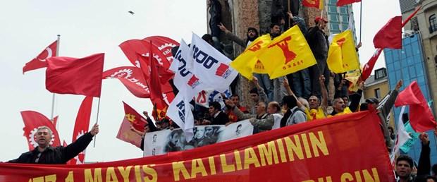 İşçiler 31 yıl sonra Taksim'de