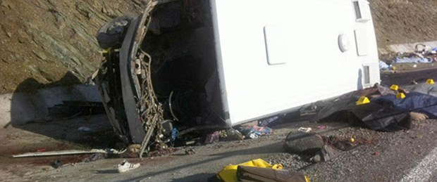 Isparta'da kaza: 18 ölü