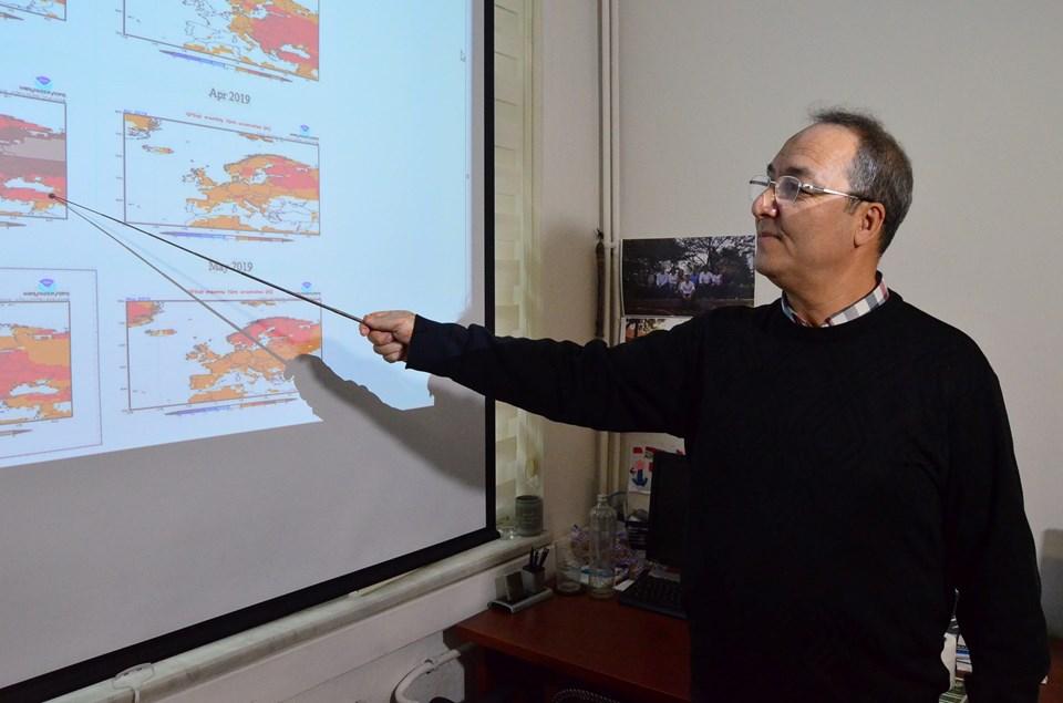 Kandilli Rasathanesi Meteoroloji Laboratuvarı Başkanı Adil Tek