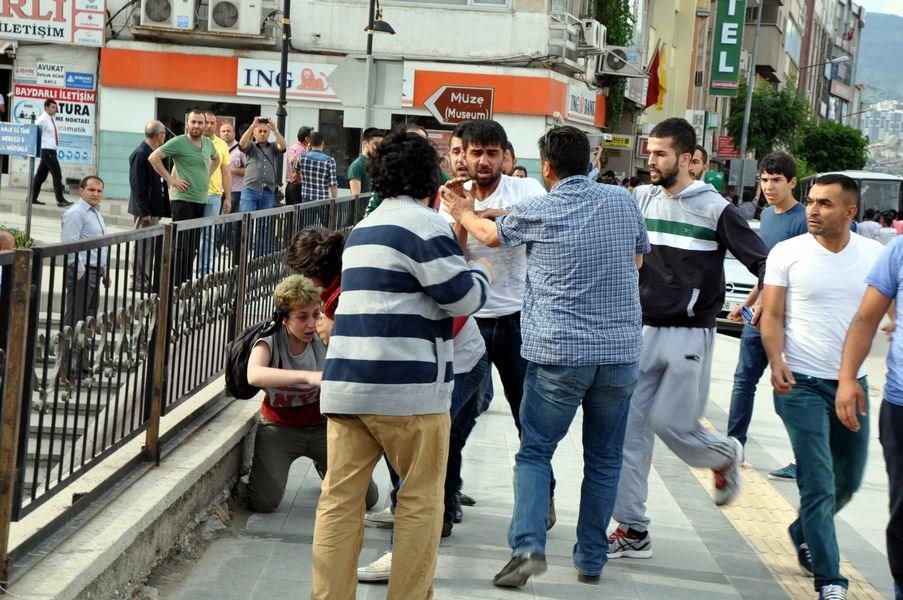 İstanbul'da Lice gerginliği