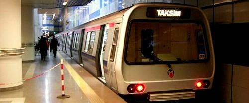 İstanbul'da metro seferleri yapılmıyor