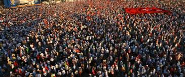 İstanbul'da meydan savaşı devam ediyor