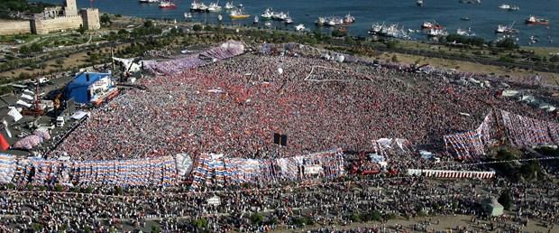 İstanbul'da miting bilmecesi