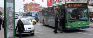 İstanbul'da otobüse özel yol