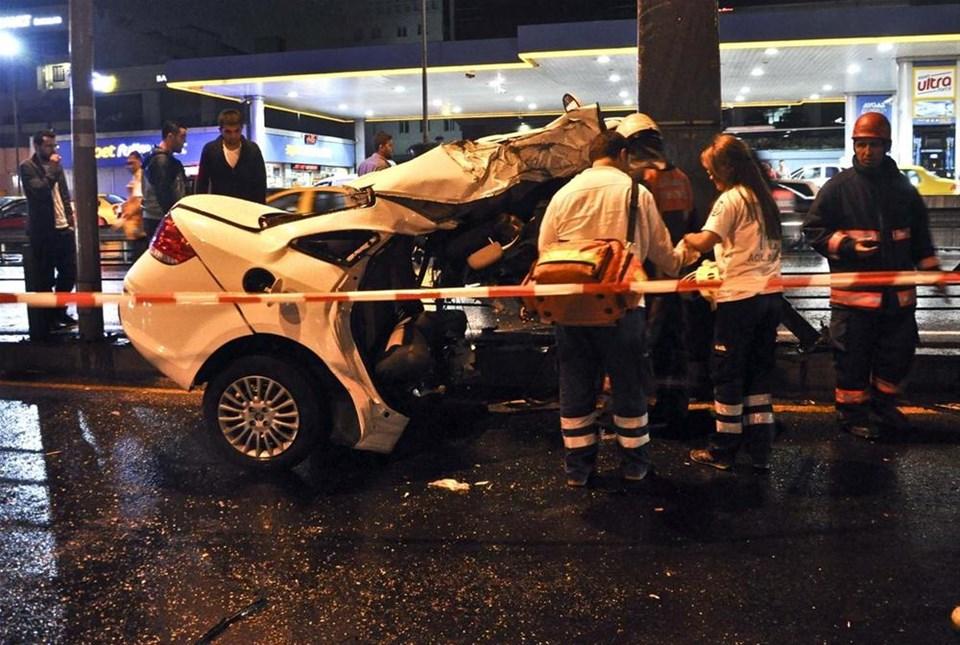 İstanbul'da Trafik kazası : 2 Ölü