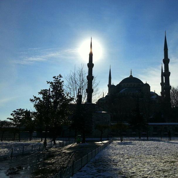 İstanbul'dan bu fotoğrafları gönderdi