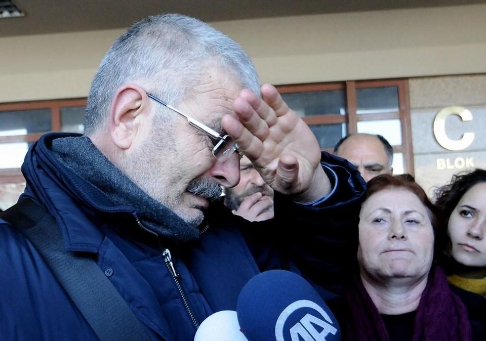 Tutuklanan Onur Kılıç'ın babası gözyaşlarına hakim olamadı.