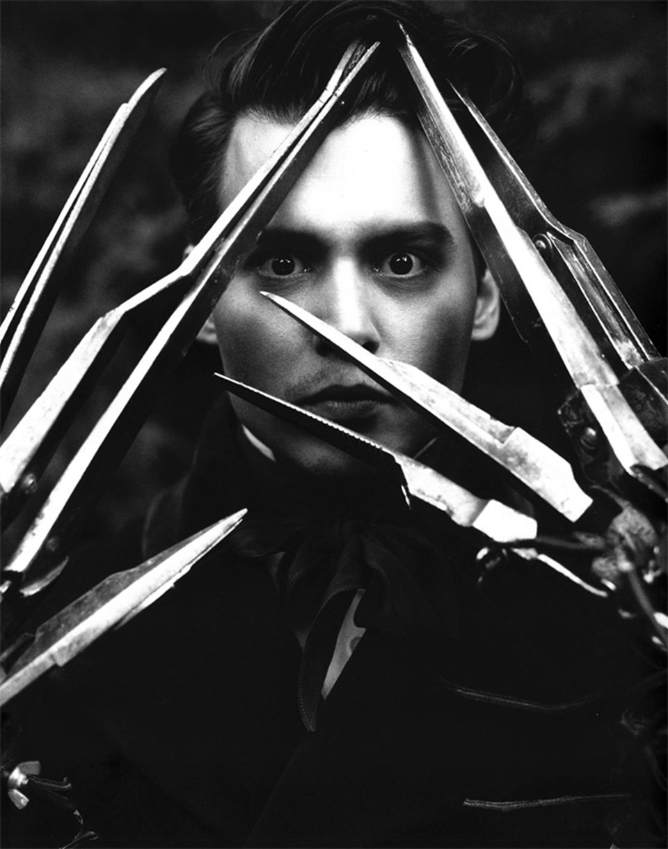 1990 yılında çekilen 'Edward Scissorhands' filminin ana karakterini Johnny Depp canlandırmıştı.