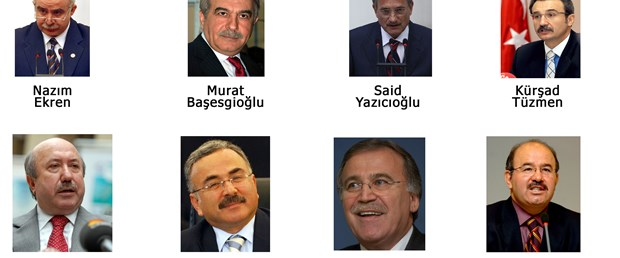 Kabine dışı kalan bakanlar