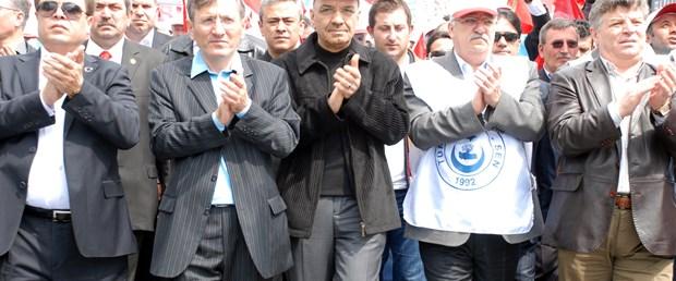Kadıköy'deki mitingde Taksim sitemi