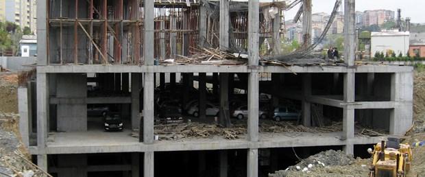 Kağıthane'de inşaat çöktü: 4 yaralı