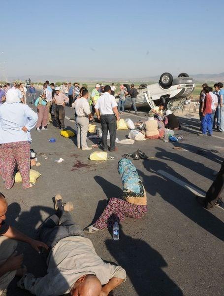 Kahramanmaraş'ta kaza: 1 ölü, 51 yaralı