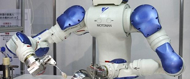 Kahvaltıyı robotlar hazırlayacak