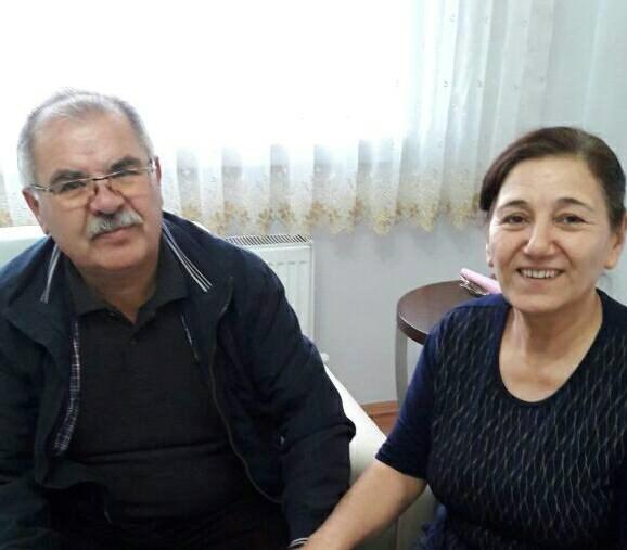 Muzaffer Babayiğit (Solda)