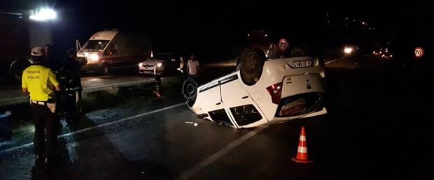 Karabük'te çifte kaza: 2'si çocuk 5 yaralı
