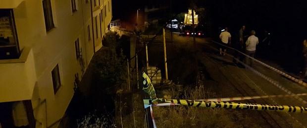 Karabük'te istinat duvarı çöktü