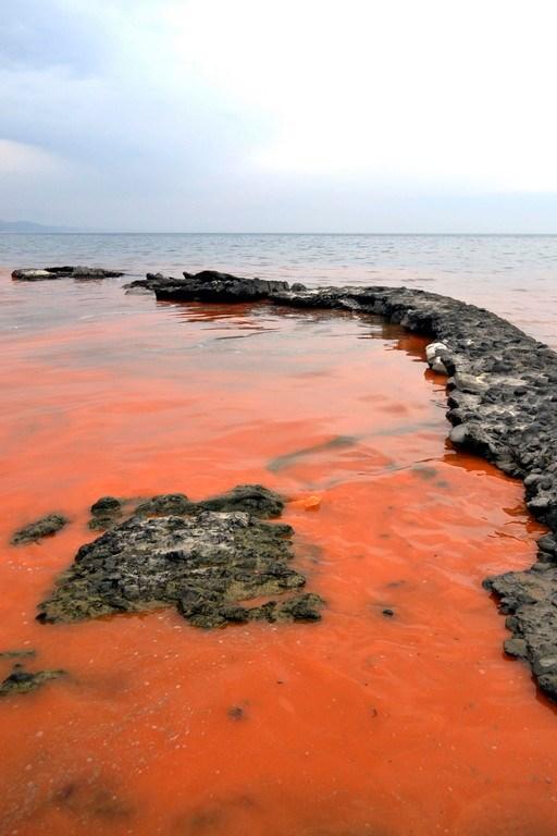 Karadeniz'de gizemli kızıl tabaka
