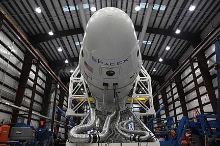 Falcon Heavy prototipi.