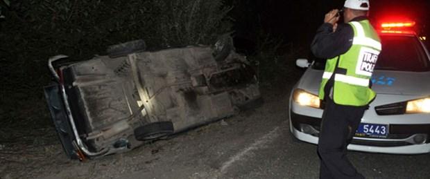 Kazada görev yapan polise araç çarptı: 1 şehit