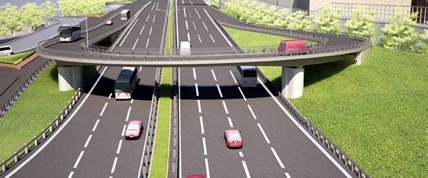 'Kesintisiz trafik' bu kavşaktan akacak
