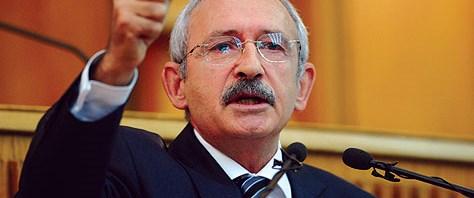Kılıçdaroğlu: Balyoz zanlısı Müsteşarlıkta