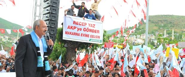 Kılıçdaroğlu: Dersimliyim gururluyum
