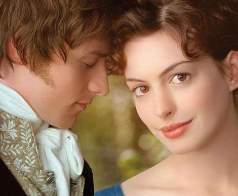 Anne Hathaway Julian Jarrold imzalı 'Becoming Jane/ Aşkın Kitabı'nda Jane Austen'i canlandırmıştı.