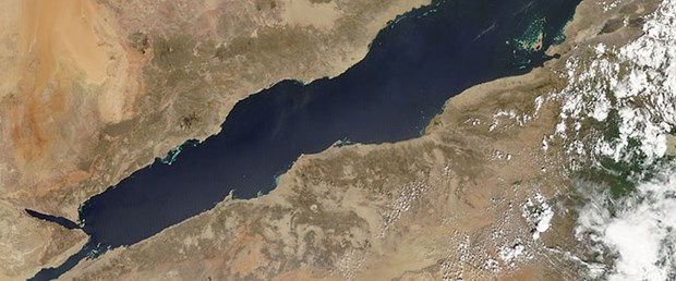 Kızıl Deniz'in derinliklerinde dev kanyon