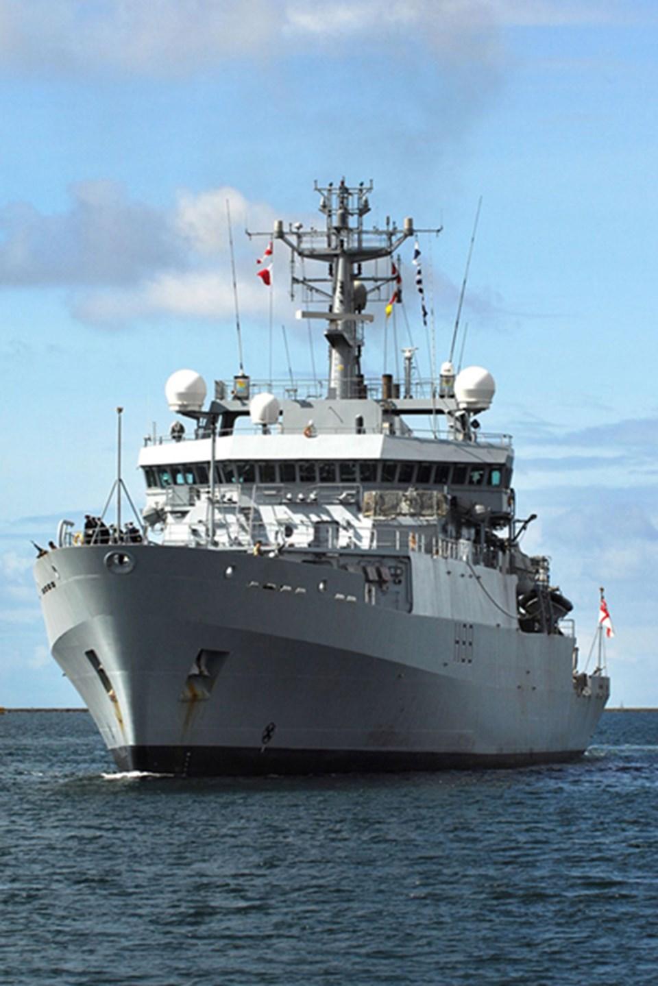 HMS Enterprise.