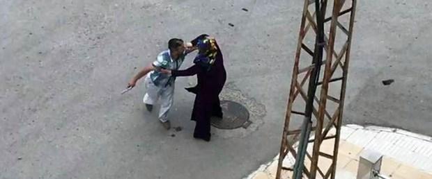 silahlı saldırgan kadın mücadele