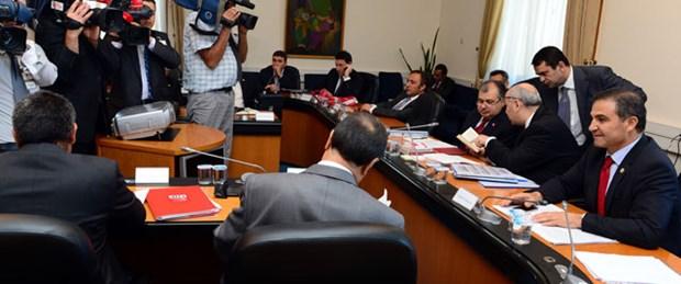 Komisyon'da 'önerge' gerginliği