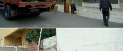 Komşu inşaat binayı çatlattı