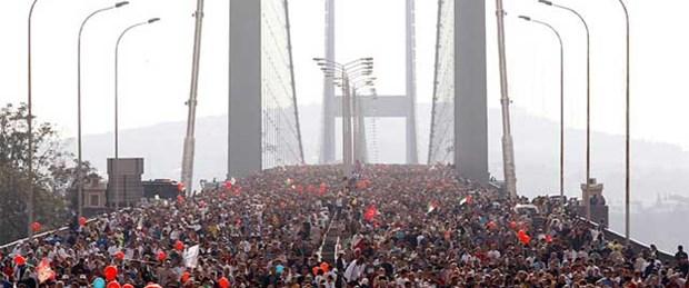 Köprü koşarak değil yürüyerek geçilecek