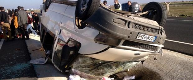 Köy öğretmenleri kaza yaptı: 12 yaralı