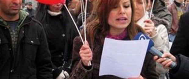 KPSS mağdurlarından balonlu eylem