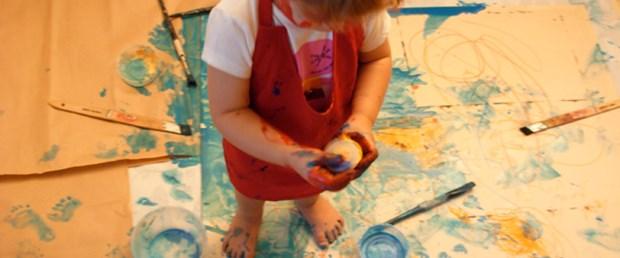 Küçük Jackson Pollock'lar