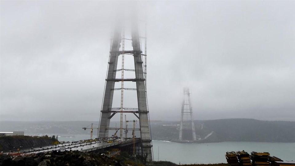 Kuleler 300 metreyi aştı